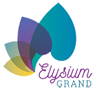 Elysium Grand Apartments Logo, Link to Home Page